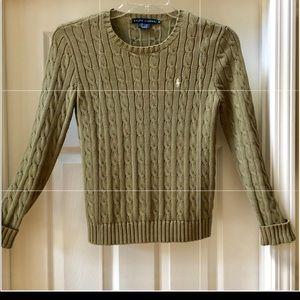 Ralph Lauren 100% cotton long-sleeve pullover.  M